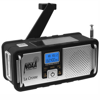 Solar Hand Crank Severe Weather Emergency Radio
